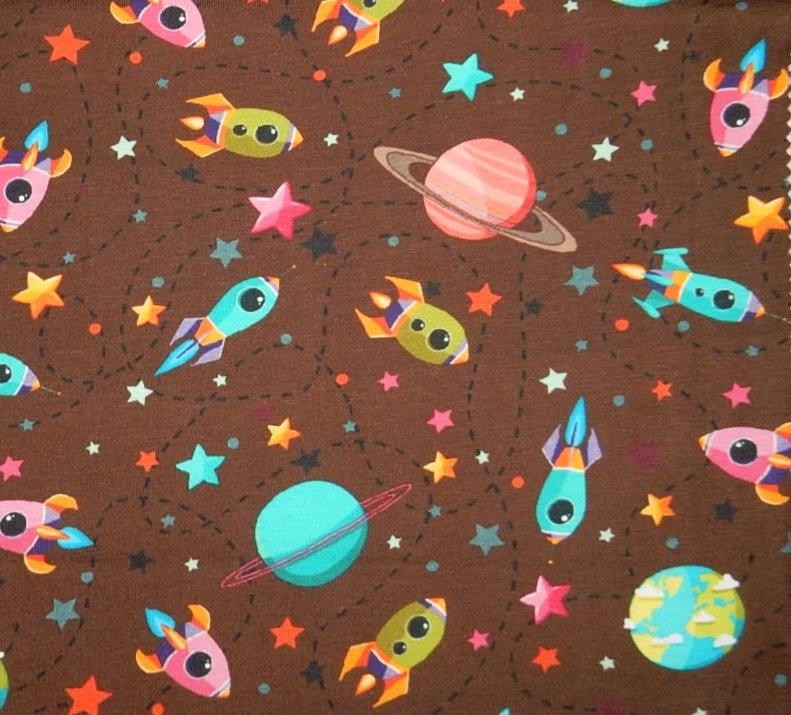Space harvey jacobs fabrics for Space unicorn fabric